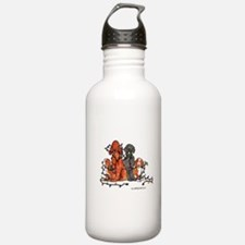 Dog Christmas Party Water Bottle