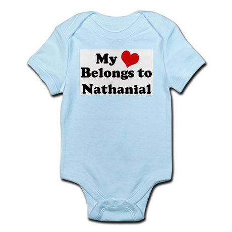 My Heart: Nathanial Infant Creeper