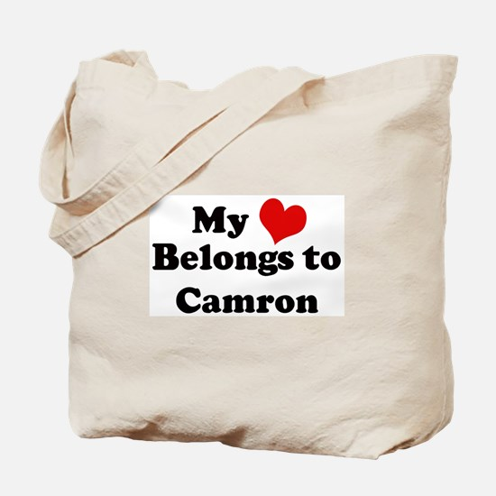 My Heart: Camron Tote Bag