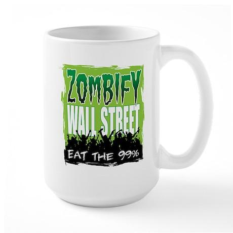 Zombify Wall Street Large Mug
