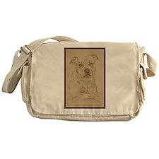 American Pit Bull Terrier Messenger Bag