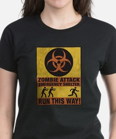 Zombie Attack Emergency Shelter Tee