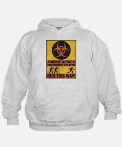 Zombie Attack Emergency Shelter Hoodie