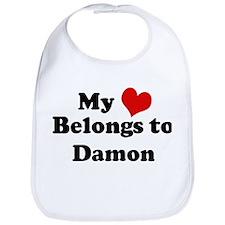 My Heart: Damon Bib