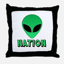Alien Nation Throw Pillow
