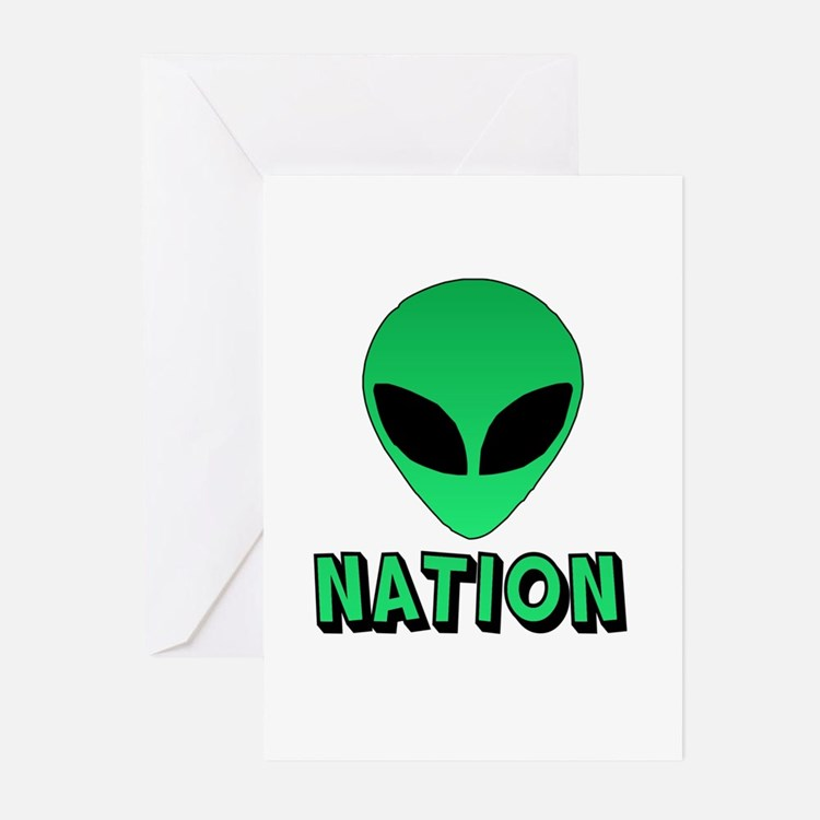 Alien Nation Greeting Cards (Pk of 10)