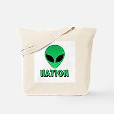 Alien Nation Tote Bag