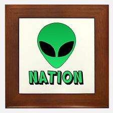 Alien Nation Framed Tile