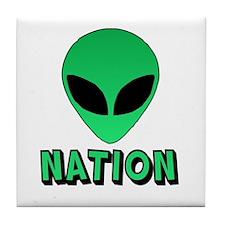 Alien Nation Tile Coaster