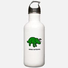 Name your own Triceratops! Water Bottle