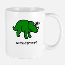 Name your own Triceratops! Mug