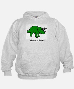 Name your own Triceratops! Hoodie