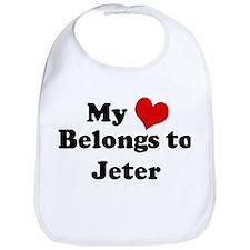 My Heart: Jeter Bib
