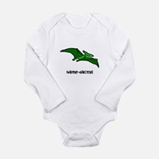 Name your own Pterodactyl! Long Sleeve Infant Body