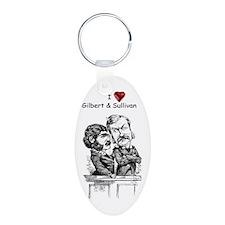 Love G&S Keychains