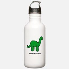 Name your own Brachiosaurus! Water Bottle