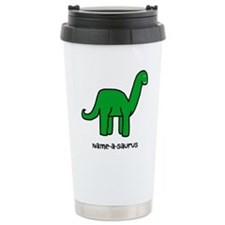 Name your own Brachiosaurus! Travel Mug