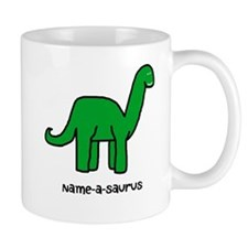 Name your own Brachiosaurus! Mug