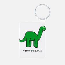 Name your own Brachiosaurus! Keychains