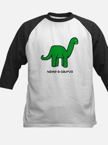 Name your own Brachiosaurus! Kids Baseball Jersey