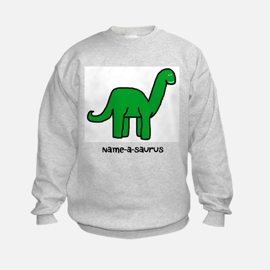 Name your own Brachiosaurus! Sweatshirt