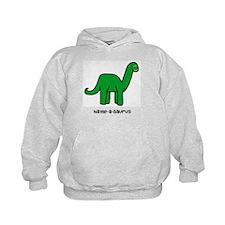 Name your own Brachiosaurus! Hoodie