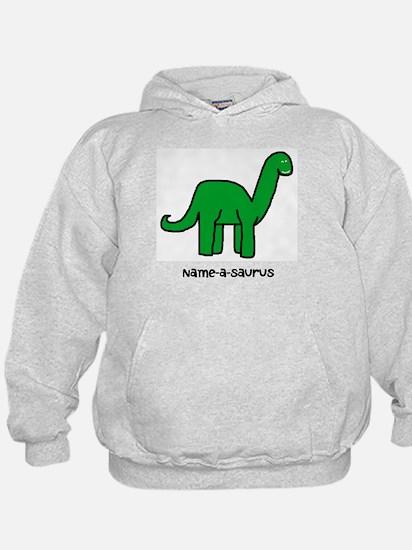 Name your own Brachiosaurus! Hoody