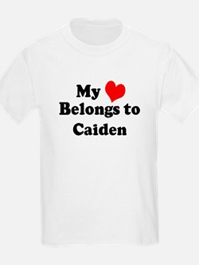 My Heart: Caiden Kids T-Shirt