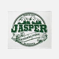 Jasper Old Circle Throw Blanket