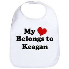 My Heart: Keagan Bib
