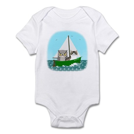 The Owl and the Pussycat at Sea Infant Bodysuit