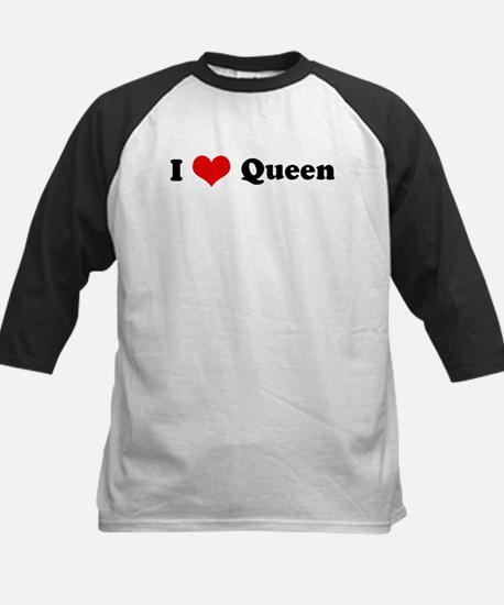 My Heart: Queen Kids Baseball Jersey