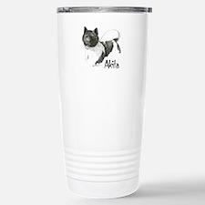 Akita Title Travel Mug