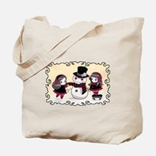 Chibi Gothic Winter Tote Bag