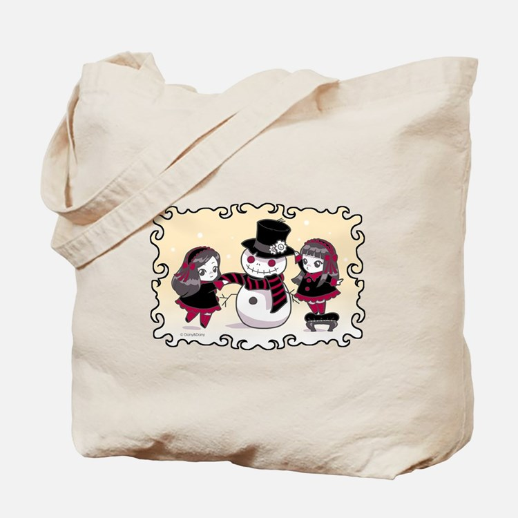 Chibi Gothic Winter Tote Bag