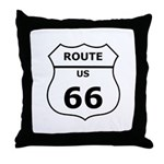 Throw Pillow, Route 66
