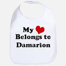 My Heart: Damarion Bib