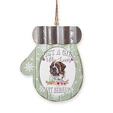 Christmas Lights Ribbon Breast Cancer Large Pet Bo