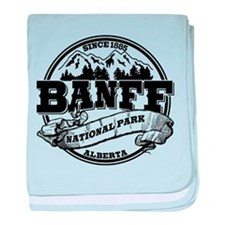 Banff NP Old Circle baby blanket