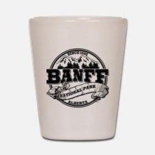 Banff NP Old Circle Shot Glass