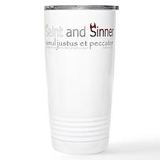 Saint and Sinner Travel Mug