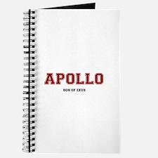 APOLLO - SON OF ZEUS! Journal