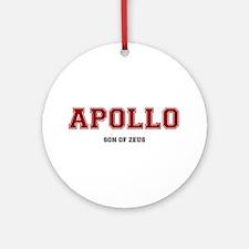 APOLLO - SON OF ZEUS! Round Ornament