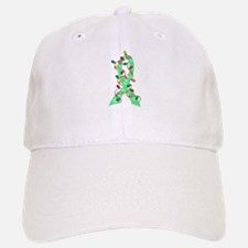 Christmas Lights Ribbon Celiac Disease Baseball Baseball Cap