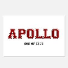 APOLLO - SON OF ZEUS! Postcards (Package of 8)