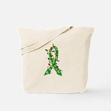 Christmas Lights Ribbon Cerebral Palsy Tote Bag