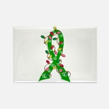 Christmas Lights Ribbon Cerebral Palsy Rectangle M