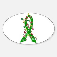 Christmas Lights Ribbon Cerebral Palsy Decal
