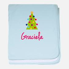 Christmas Tree Graciela baby blanket