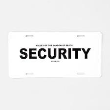 VSD Security Aluminum License Plate